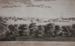 A View of Plymouth from The New London Magazine 1793