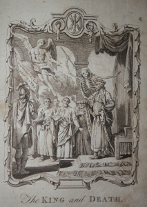 The King and Death from The New London Magazine 1793