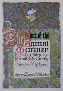 The Rime of the Ancient Mariner - title page by Willy Pogany @ 1910