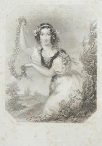 Mirth - stipple engraving by Francis Holl @ 1844