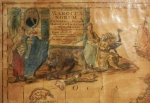 Statuum Marocca Norum by Homann @ 1728