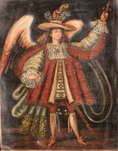 Military Archangel - Cuzco School - 17th/18th century