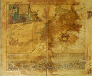 Statuum Marocca Norum - map by Johann Christian Homann @ 1728