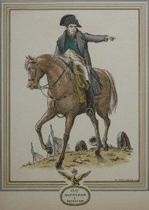Napoleon at Friedland by Daniel Devreaux