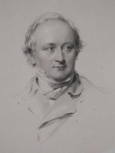 Christian Karl Josias von Bunsen - stipple engraving by JH Robinson after G Richmond @ 1859