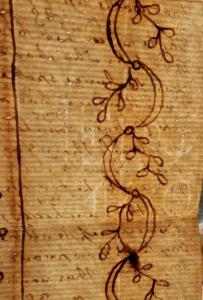 Robert Bloomfield - watermark on paper @ 1800