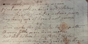 Robert Bloomfield 'Richard and Kate' verses 24 & 25 @ 1800
