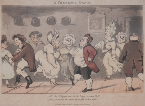 A Cheerful Dance published by Thomas McLean @ 1821