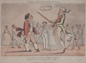 Takes Lessons in Dancing published by Thomas McLean @ 1821